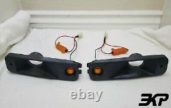 1988-1889 Honda EF CIVIC / CRX Turn Signal Brake 2 Duct Set Amber LED 3DFDM