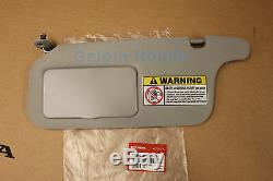 1996-2000 Honda CIVIC CLEAR GREY Driver Side Sunvisor (83280-S01-A32ZA)