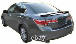 2008-2012 Honda Accord 4 Door Sedan Painted Factory Style Rear Spoiler with LED