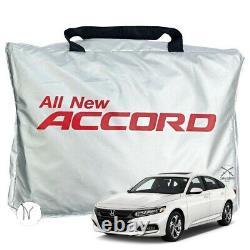 2021-15 Honda Accord Car Cover Breathable Body Dust &UV Protection Sedan 4 doors