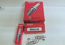 4x NGK Spark Plugs 12290-5A2-A01 DILKAR7G11GS for Honda Accord Civic Acura ILX