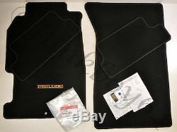 97-01 Honda Prelude New Genuine EDM Euro Gold Lettering Oem Floor Mat Rug Set