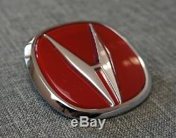 Acura Integra Type-R Red Front Grille Badge Emblem OEM Genuine TypeR Type R