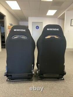 BRIDE DIGO RACING SEAT PAIR BLACK GRADATION for Acura Integra DC2 94-01 2 SEATS