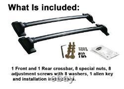 BRIGHTLINES Cross Bars Roof Rack Replacement For 2007-2011 Honda CRV CR-V OE