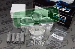 CP Pistons Eagle Rods Tsx Accord Crv K24 K24A 10.01 87mm
