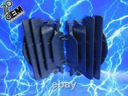 CRF250 Genuine OEM Radiator Guards Screens Shields Louvers Black Stock Plastics