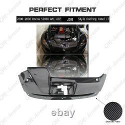 Carbon JSR Style Cooling Panel Kit Fit For 2000-2008 Honda S2000 AP1 AP2