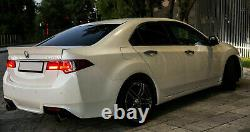 Ducktail spoiler for Honda Accord 8 Acura TSX 08-13 rear boot trunk lip wing KL