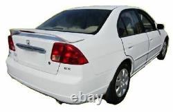Factory Style Rear Spoiler PAINTED Fits 2001 2005 Honda Civic Sedan 4 Door