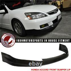 Fits 06-07 Honda Accord 2Dr Front Bumper Lip Spoiler Hfp-Style PU