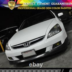 Fits 06-07 Honda Accord Front Bumper Lip Spoiler OEM Painted Color