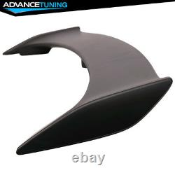 Fits 06-11 Honda Civic Si 2Dr Coupe LED 3rd Brake Trunk Spoiler Unpainted ABS