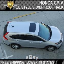 Fits 2012-2016 Honda CRV Roof Rack Rail Bar Silver OE FACTORY Style CR-V