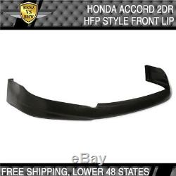 Fits Honda Accord 2Dr PU Front Bumper Lip HFP-Style Poly-Urethane 2003 2004 2005