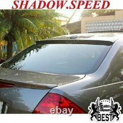 Flat Black 280 BRS Type Rear Roof Spoiler Wing For 20032007 HONDA Accord sedan