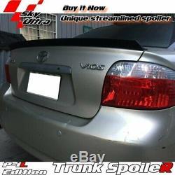 Flat Black 284 PIL Rear Trunk Spoiler Wing For 19982002 Honda Accord K9 Sedan