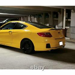 Flat Black 648 HPDL Type Rear Trunk Spoiler Wing For 201318 Honda Accord Coupe
