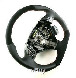 Flat Bottom Steering Acura Tsx Honda Accord Vii! Reshape! New Leather