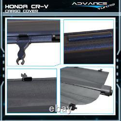 For 02-06 Honda CRV OE Retractable Security Rear Cargo Trunk Cover Black