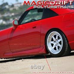 For 2000-2009 HONDA S2000 S2K AP1 AP2 OE STYLE SIDE SKIRTS SILL STRAKES CORNERS