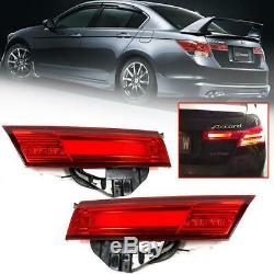 For 2008-2012 Honda Accord Led Trunk Lights 2pcs (for Japan Type Back Garnish)