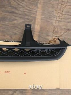 Genuine Grill 97-01 Honda Prelude Front Grill Black Usdm Real Deal Oem