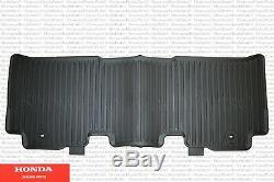 Genuine Honda All Weather Floor Mat Kit And Trunk Tray Fits 2018-2020 Odyssey