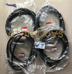 Genuine Honda CIVIC 4 Door Sedan Ej6 Ej Ej9 Seal Rubber Weatherstrip Ex DX LX