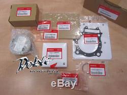 Genuine Honda OEM CRF450X 2005, 2006, 2007, 2008 Complete Piston Kit