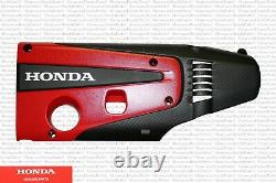 Genuine Honda OEM Red Top Engine Cover Plate Fits Civic Type-R 12500-5BF-A01
