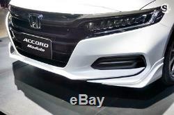 Genuine JDM Honda Accord Modulo 4Dr Sedan Front Under Skirt Lower Spoiler 2019