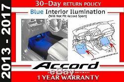 Genuine OEM 13-17 Honda Accord 4Dr Blue Interior Illumination Kit 08E10-T2A-100A