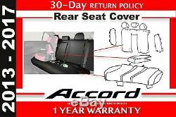 Genuine OEM Honda Accord 4Dr Sedan Rear Seat Cover 2013- 2017 (08P32-T2A-110)