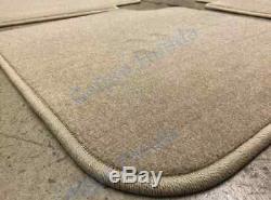 Genuine OEM Honda Accord 4dr Tan Carpet Floor Mat Set 2003-2007 83600-SDA-A02ZC
