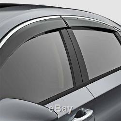 Genuine OEM Honda Accord Sedan 4dr Door Visor Kit 2018- 2020 08R04-TVA-101