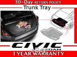 Genuine OEM Honda CIVIC 4-DR Sedan Trunk Tray 2016 2020 (08U45-TBA-100)