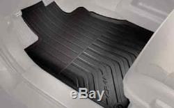 Genuine OEM Honda CR-V Black All Season Mat Set 2012 2016 (08P13-T0A-110A)