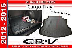Genuine OEM Honda CR-V Cargo Tray 2012 2016 (08U45-T0A-100)