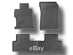 Genuine OEM Honda Civic Coupe Black All Season Floor Mats 12-15 08P13-TS8-110B