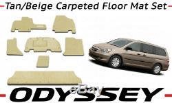 Genuine OEM Honda Odyssey Ivory Carpeted Floor Mat Set 2005-2006 83600-SHJ-A01ZD