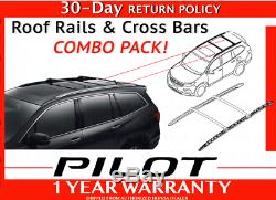 Genuine Oem Honda Pilot Roof Rails Cross Bars Combo Pack 2016 2020