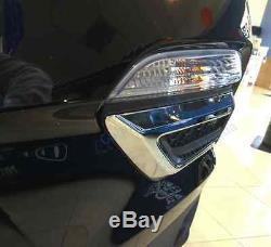 Genuine OEM Honda Pilot Chrome Front Bumper Trim 2016 2018 (08F23-TG7-100)