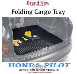 Genuine OEM Honda Pilot Folding Cargo Mat (2016 2018 & 2020) Tray (TG7-101)