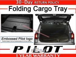 Genuine OEM Honda Pilot Folding Cargo Tray 2019-2020 Mat Trunk 08U45-TG7-100B