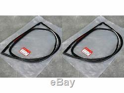 HONDA CIVIC EG6 Strip Rubber Molding QUARTER MOLDING L & R SET GENUINE OEM