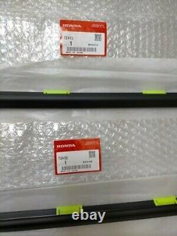 HONDA CIVIC EK9 EK Door Window Weather Molding Right Left Set OEM Genuine