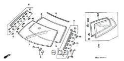 HONDA GENUINE OEM CIVIC EG4 EG6 Strip Rubber Molding QUARTER MOLDING L & R SET