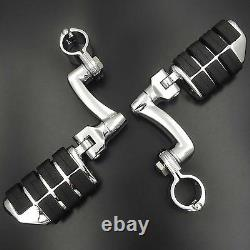 Highway Foot Pegs Rest For Harley 1-1/4 Touring Electra Street Glide Rode King