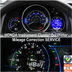Honda 1998-2020 Instrument Gauge Cluster Mileage Correction/Programming Service